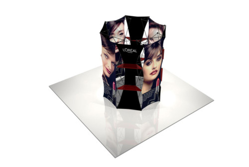 Xpressions Connex Fabric Displays
